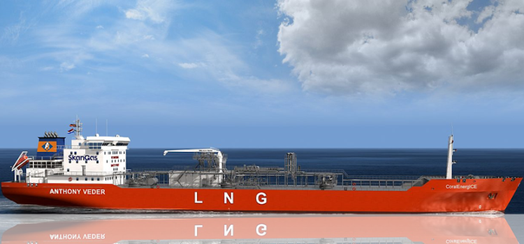 LNG gas tanker Coral Energice delivered to Dutch shipping company Anthony Veder